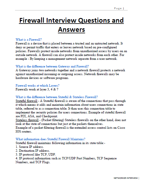 hardware and networking interview questions with answers pdf download